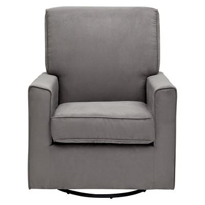 Delta Children Ava Nursery Glider Swivel Rocker Chair - Graphite