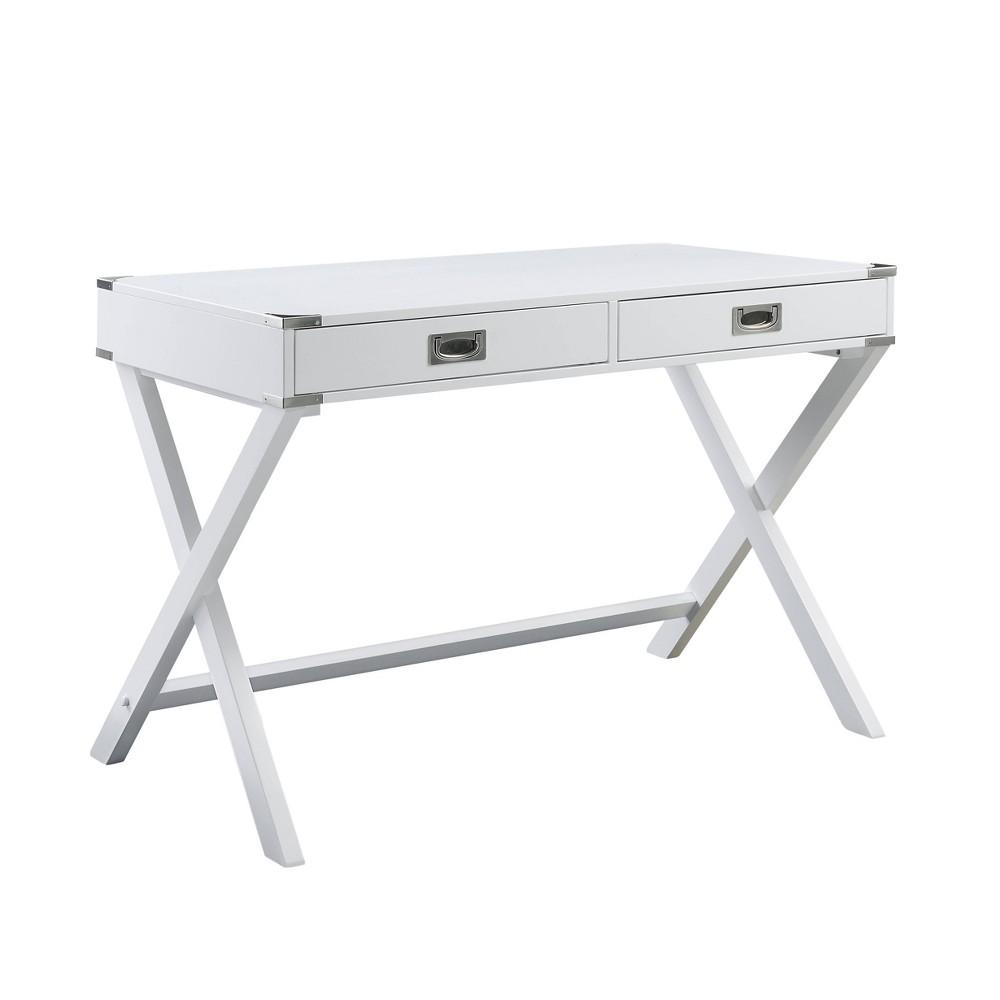 Amenia Desk  - Acme Furniture Amenia Desk White - Acme Furniture