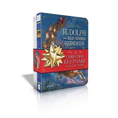 Rudolph the Red-Nosed Reindeer a Christmas Keepsake Collection - (Classic Board Books) by  Robert L May (Board Book)