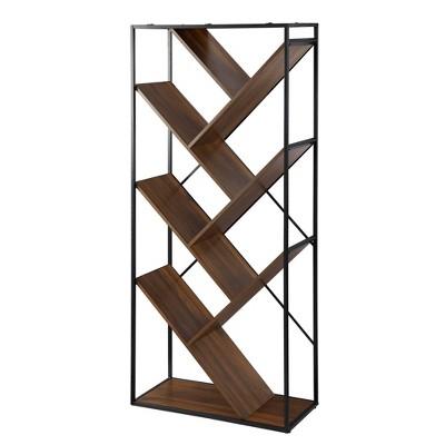 "68"" Anti Gravity Inverted V Bookshelf - Saracina Home"