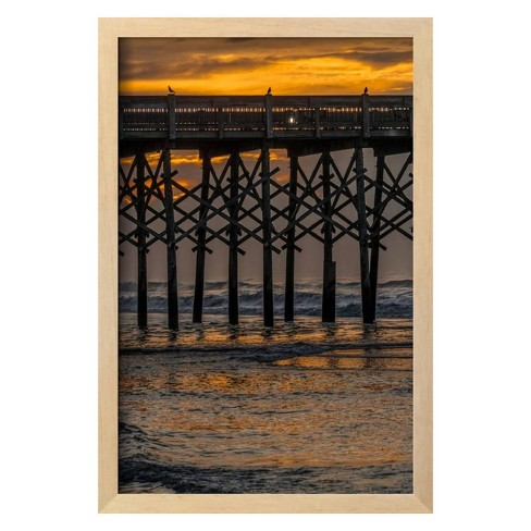 Perched on the Pier by Steven Maxx Framed Photographic Print - Art.com - image 1 of 3