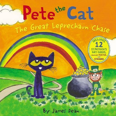 Great Leprechaun Chase -  (Pete the Cat) by James Dean (Hardcover)