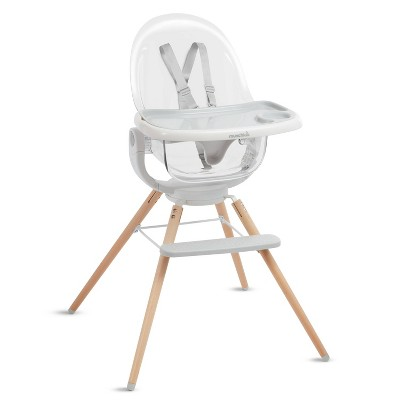 Munchkin Cloud Baby High Chair with 360° Swivel - Clear