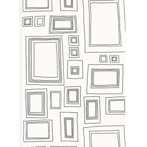 Graham & Brown Medium Frames Paintable Wallpaper : Target