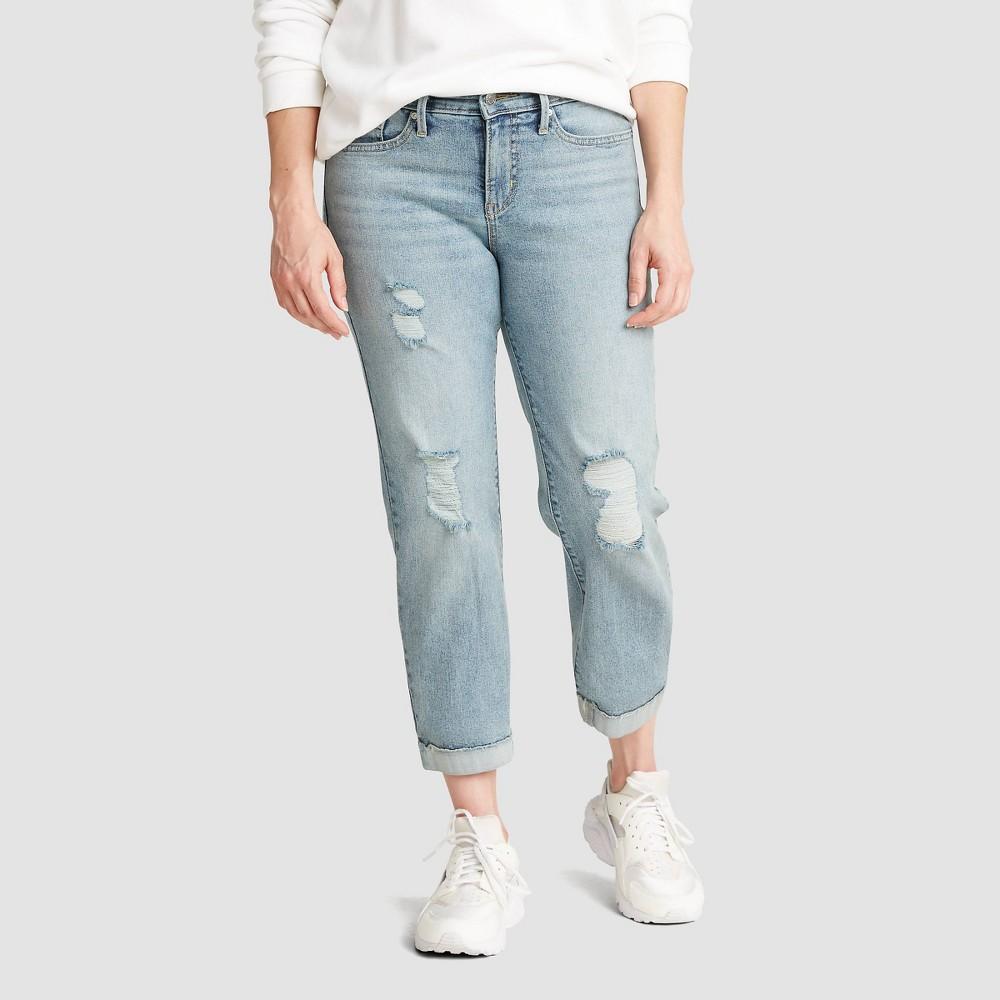 Compare DENIZEN® from Levi's® Women's Mid-Rise Slim Fit Boyfriend Cropped Jeans -