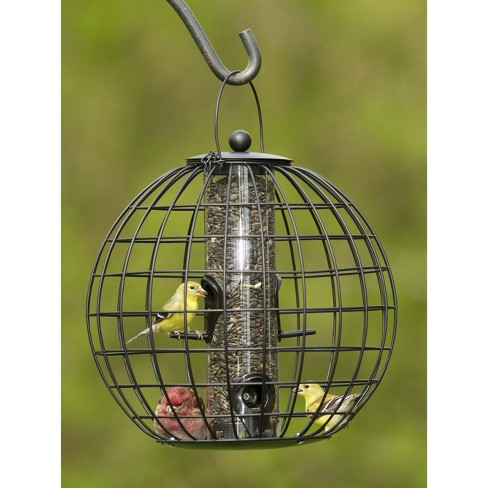 Mixed Seed Globe Cage Feeder - Gardener's Supply Company - image 1 of 4