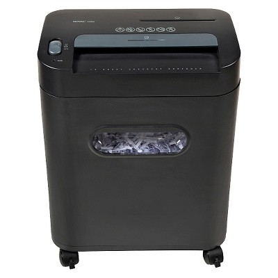 Royal 12-Sheet Cross Cut Paper Shredder with Pullout Basket