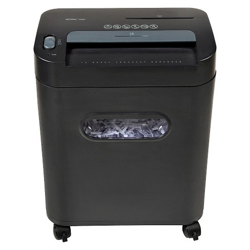 Royal 12-Sheet Cross Cut Paper Shredder with Pullout Basket - image 1 of 3