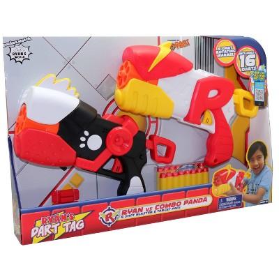 Ryan's Dart Tag Ryan vs Combo Panda 6 Shot Blaster
