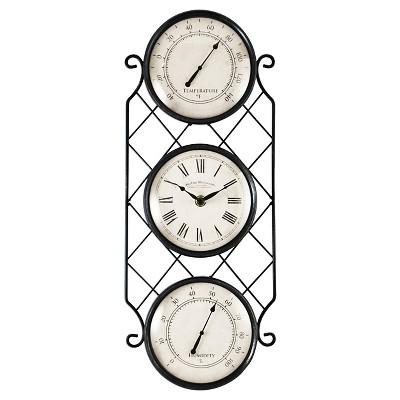 18  FirsTime Bronze Allegri Wall Clock - Bronze