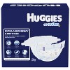 Huggies Little Movers Baby Disposable Diapers Size 4 - 120ct + Overnite Baby Diapers Size 4 - 58ct + Natural Sensitive Baby Wipes - Bundle - image 3 of 4