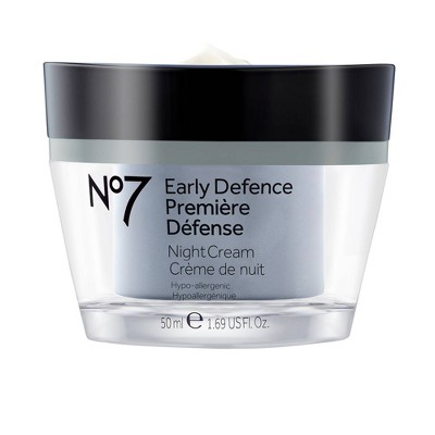 Facial Moisturizer: No7 Early Defence Night Cream