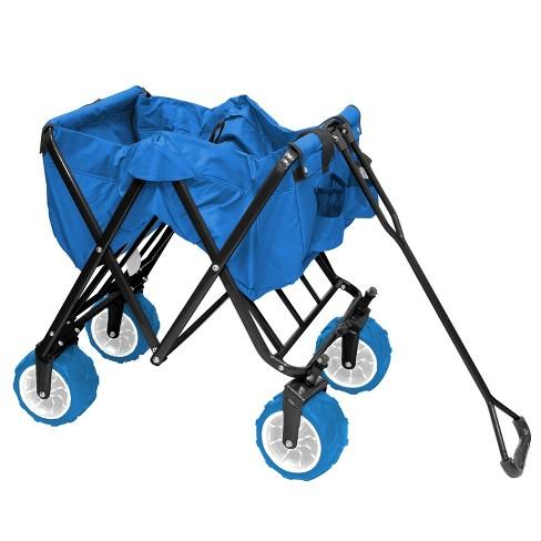 Creative Outdoor All-Terrain Folding Wagon   Target 6622610a51ef
