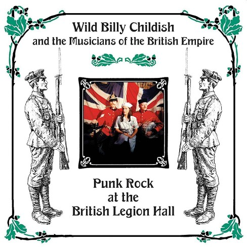 Childish billy - Punk rock at the british legion hall (CD) - image 1 of 1