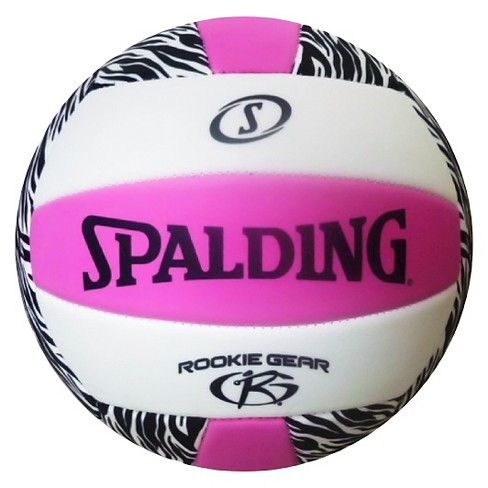 Spalding Rookie Gear EVA Volleyball  - Pink/Black - image 1 of 2