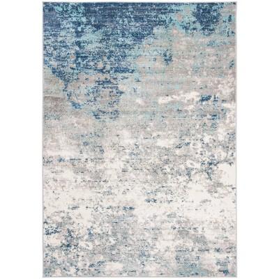 6'x9' Matilde Rug Light Gray/Blue - Safavieh