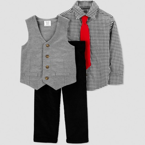 e941232069a1 Toddler Boys  Gingham Dressy Vest Set - Just One You® Made By ...