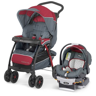 Chicco Cortina CX Travel System Lava