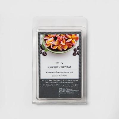 6ct Hawaiian Nectar Scented Wax Melts - Threshold™