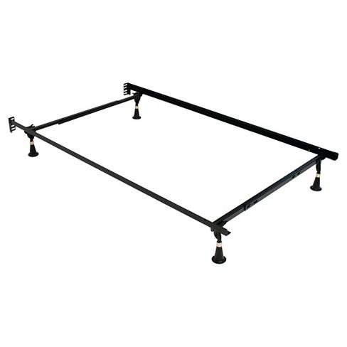Serta Stable-Base Premium Bed Frame Black : Target