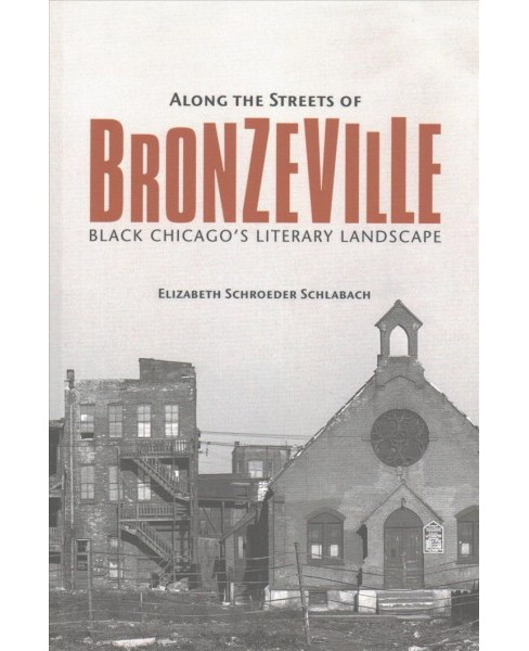 Along the Streets of Bronzeville : Black Chicago's Literary Landscape (Reprint) (Paperback) (Elizabeth - image 1 of 1