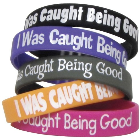 Teacher Created Resources Wristbands, I Was Caught Being Good, pk of 10 - image 1 of 1