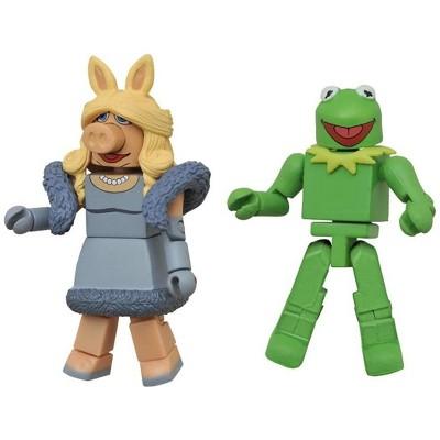 Diamond Comic Distributors, Inc. Muppets Minimates Series 1 2-Pack: Kermit & Miss Piggy