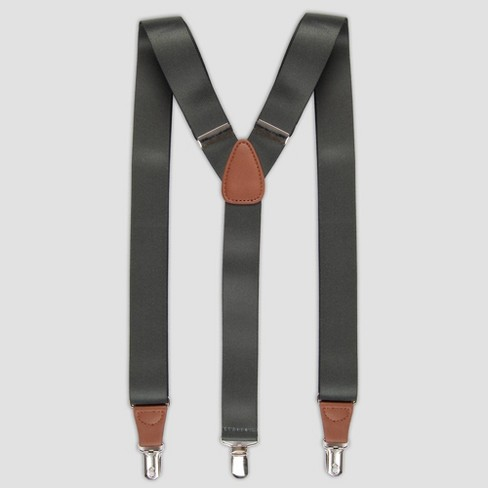 Men's Suspenders - Goodfellow & Co™ Green One Size - image 1 of 2