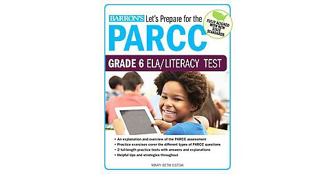 Barron's Let's Prepare for the PARCC Grade 6 ELA/Literacy Test (Student) (Paperback) (Marybeth Estok) - image 1 of 1