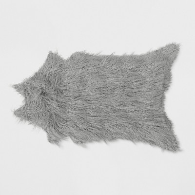 Mongolian Faux Fur Rug Gray - Project 62™