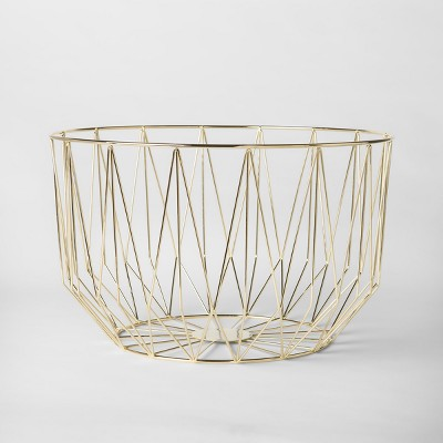 Decorative Basket - Gold - Project 62™