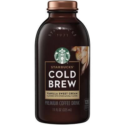 Starbucks Cold Brew Vanilla Sweet Cream - 11 fl oz Bottle