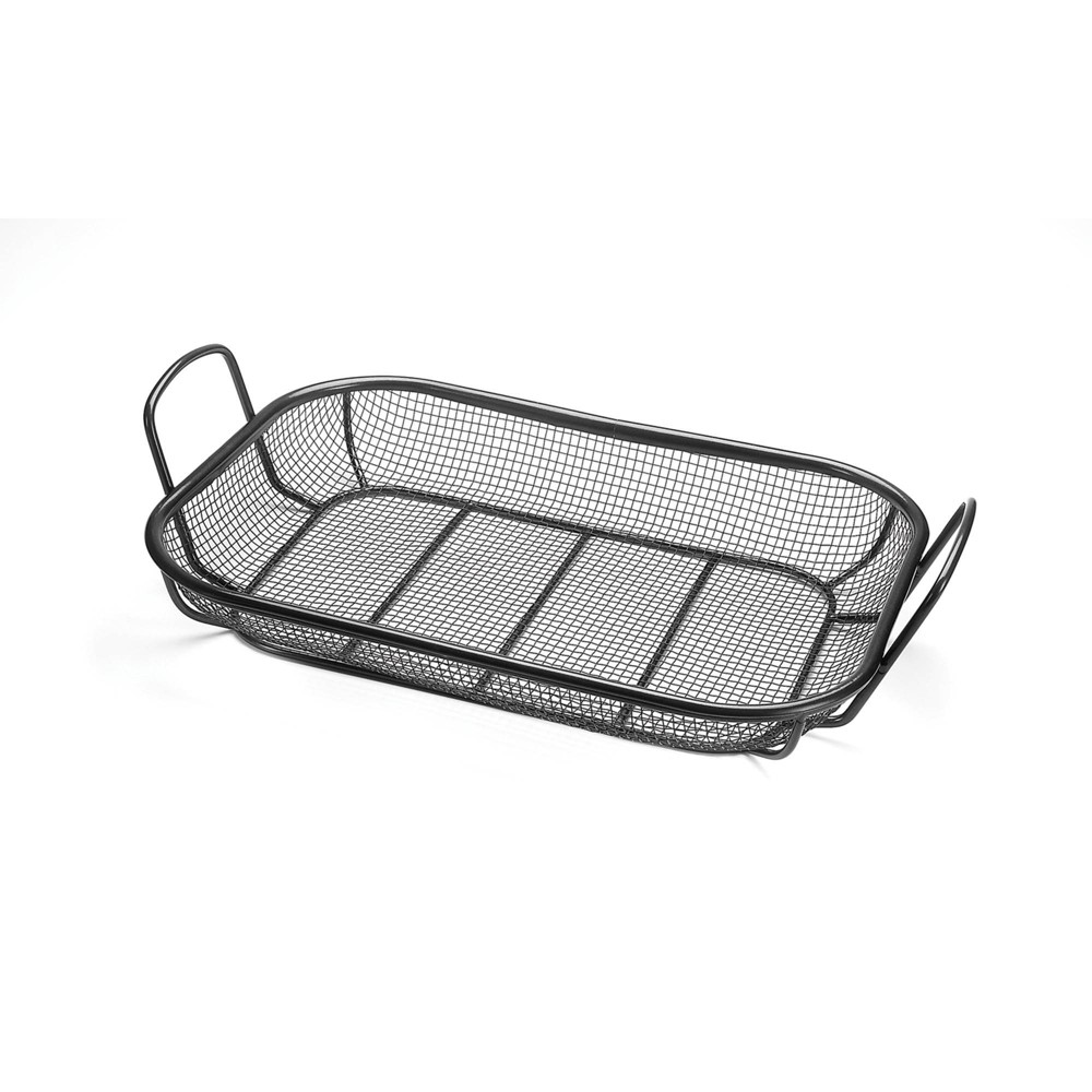 Image of Roasting Basket Black - Outset