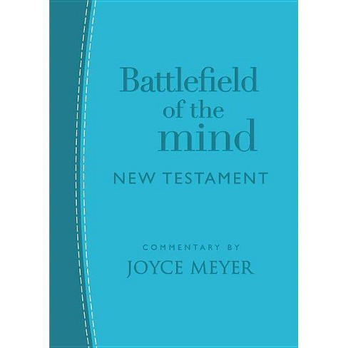 Battlefield of the Mind New Testament - by  Joyce Meyer (Leather_bound) - image 1 of 1