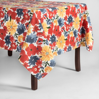 104 x60  Floral Tablecloth - Threshold™