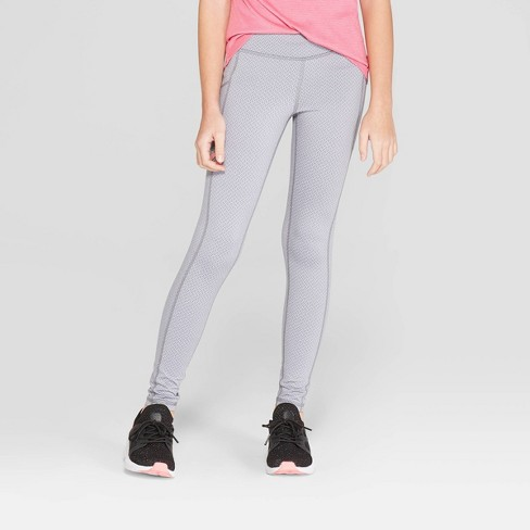 04519e11e724 Girls  Jacquard Premium Performance Leggings With Pockets - C9 Champion®    Target