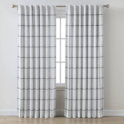 Blackout Window Curtain Panel Gray - Threshold™