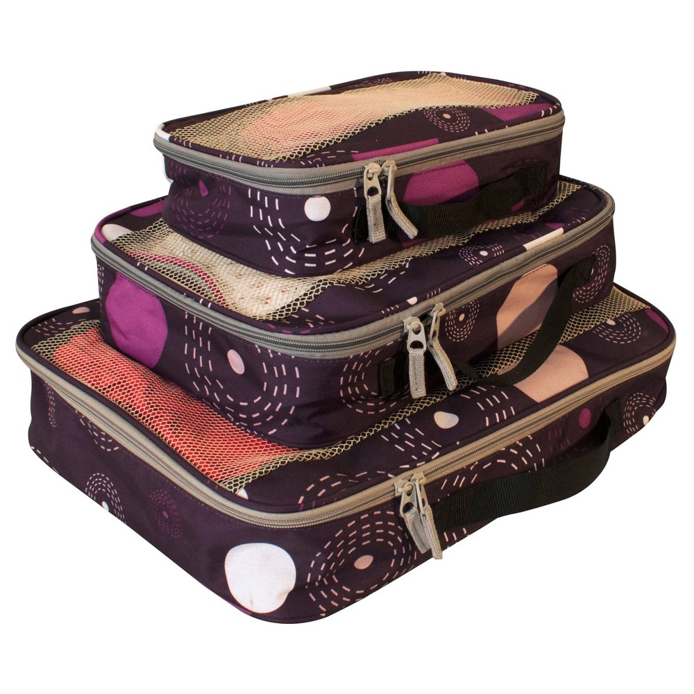 Image of American Flyer Fireworks 3pc Set Perfect Packing System - Purple, Size: Small