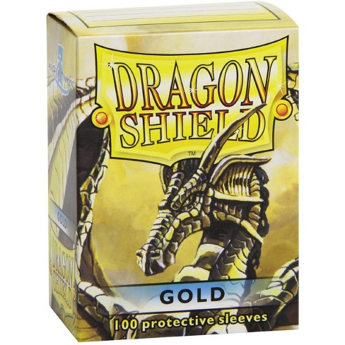 Dragon Shield Sleeves 100 Gold Cards - image 1 of 1