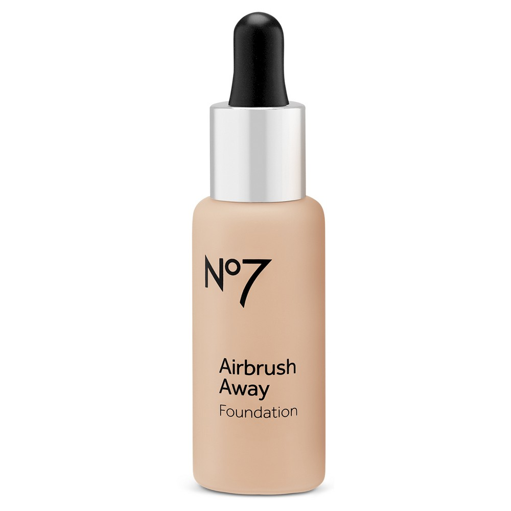 Image of No7 Airbrush Away Foundation Warm Beige - 1 fl oz