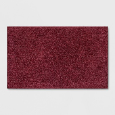 Perfectly Soft Solid Bath Mat Beet Juice Red - Opalhouse™