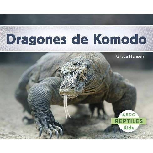 Dragones de Komodo - (Reptiles) by  Grace Hansen (Paperback) - image 1 of 1