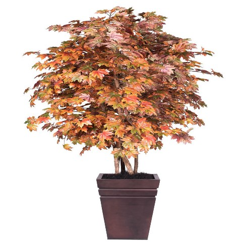 Artificial Maple Plant (6.5ft) Brown - Vickerman® - image 1 of 1