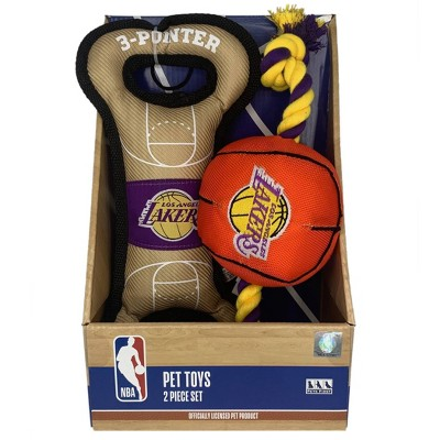 NBA Los Angeles Lakers Toy Gift Set