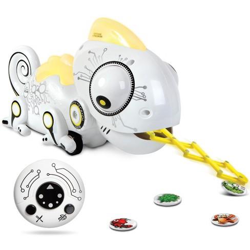 Sharper Image Color Changing Rc Robotic Chameleon Target