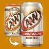 A&W Root Beer Zero Sugar Soda - 12pk/12 fl oz Cans - image 3 of 4