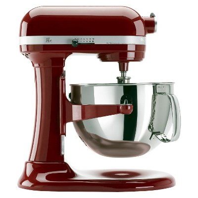 KitchenAid Professional 600 Series 6-Quart Bowl-Lift Stand Mixer - KP26M1X, Empire Red