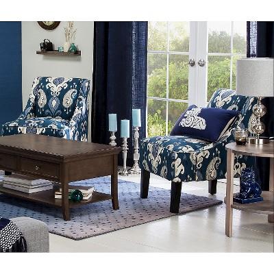 Incroyable Hudson Swoop Chair   Indigo Ikat : Target