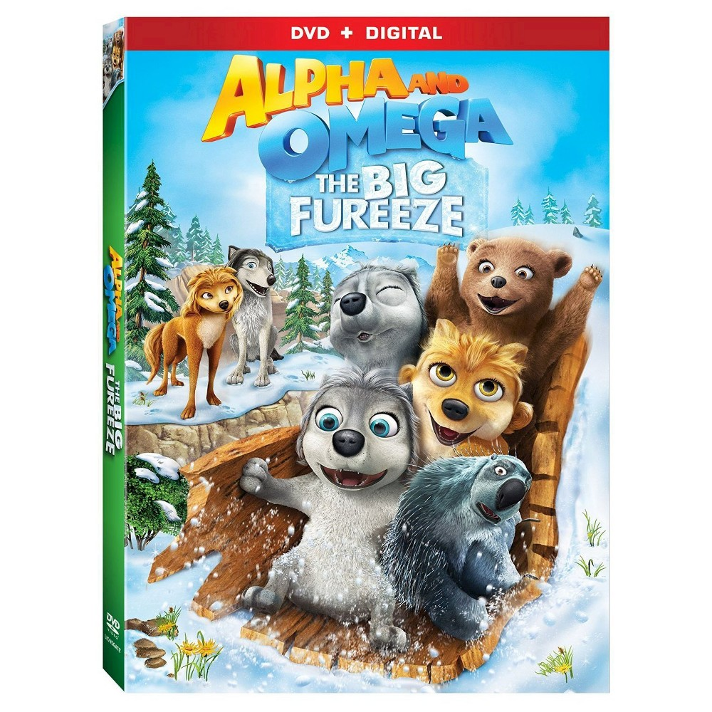 Alpha And Omega: The Big Fureeze (Dvd + Digital)