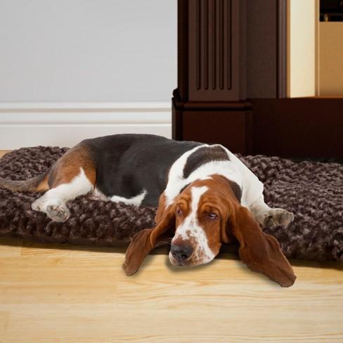 Petmaker Jumbo Cushion Pillow Pet Bed - Chocolate - image 1 of 4